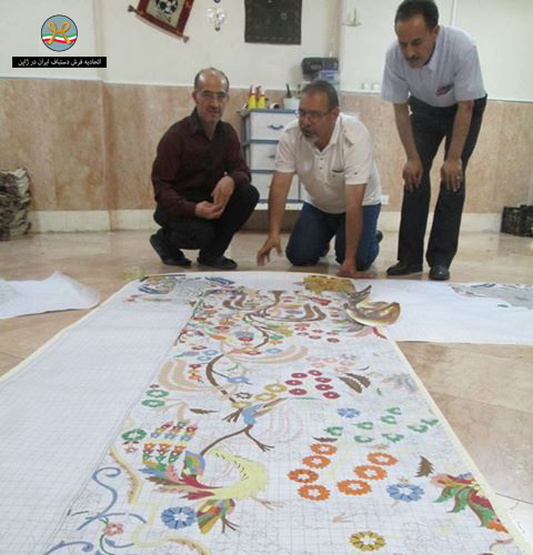 Persian Rug Los Angeles: Rug Brazil World Cup 2014 Was Woven In Iran