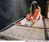 persian girl rugs weaving