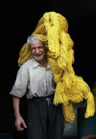 wool yellow